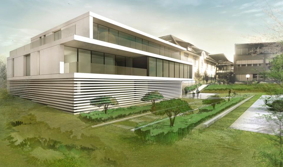 Rothrist k architectes bureau architecture gen ve zurich sion suisse - Bureau architecte geneve ...