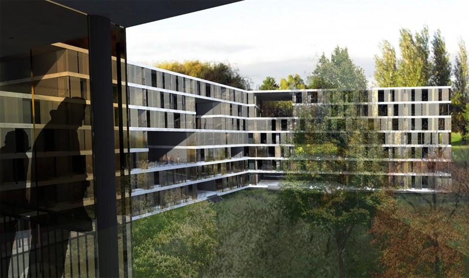Plan les ouates k architectes bureau architecture for Architecture zurich