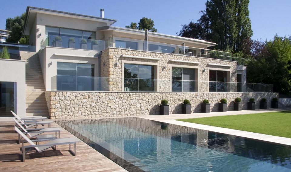 Cologny 4 k architectes bureau architecture gen ve zurich sion suisse - Bureau architecte geneve ...