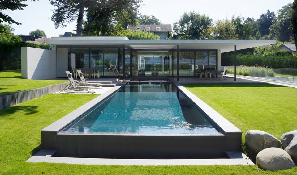 Corsier 2 k architectes bureau architecture gen ve zurich sion suisse - Bureau architecte geneve ...