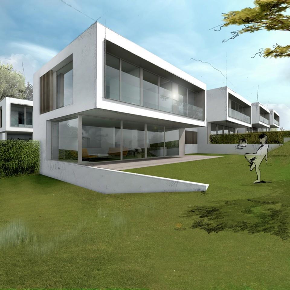 Corsier 2015 k architectes bureau architecture gen ve zurich sion suisse - Bureau architecte geneve ...